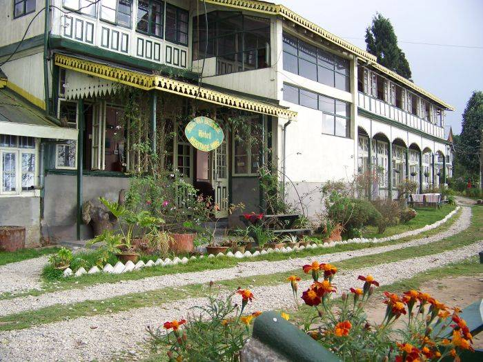 Main Olde Bellevue Hotel, Darjiling, India, India hotels and hostels