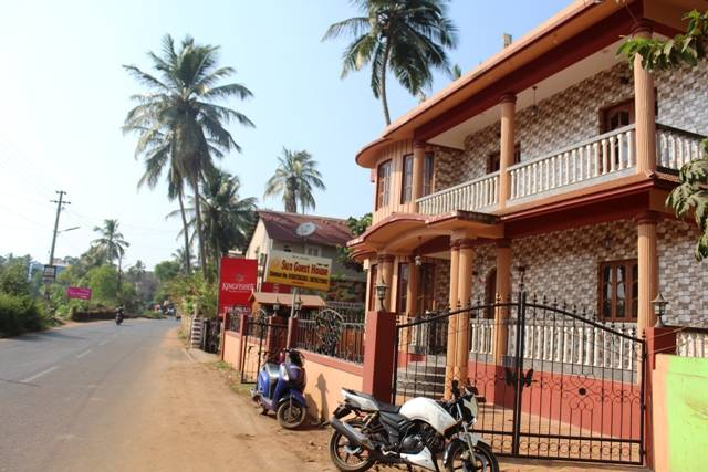 Sun Guest House and Apartment, Calangute, India, India hostels and hotels