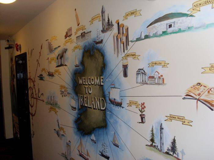 Globetrotters, Dublin, Ireland, international backpacking and backpackers hostels in Dublin