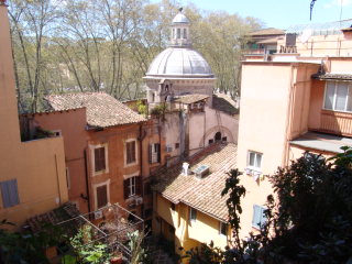Historic House, Orange Room And Flat, Rome, Italy, Italy hotels and hostels