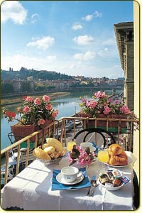 Hotel Ritz, Florence, Italy, preferred site for booking vacations in Florence