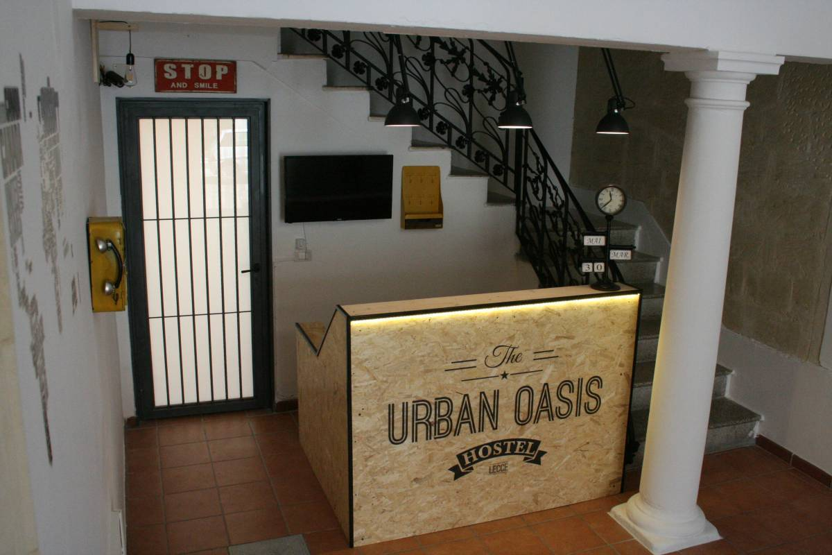 Urban Oasis Hostel, Lecce, Italy, the best locations in Lecce