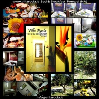 Villa Rocla, Pompei, Italy, secure online booking in Pompei