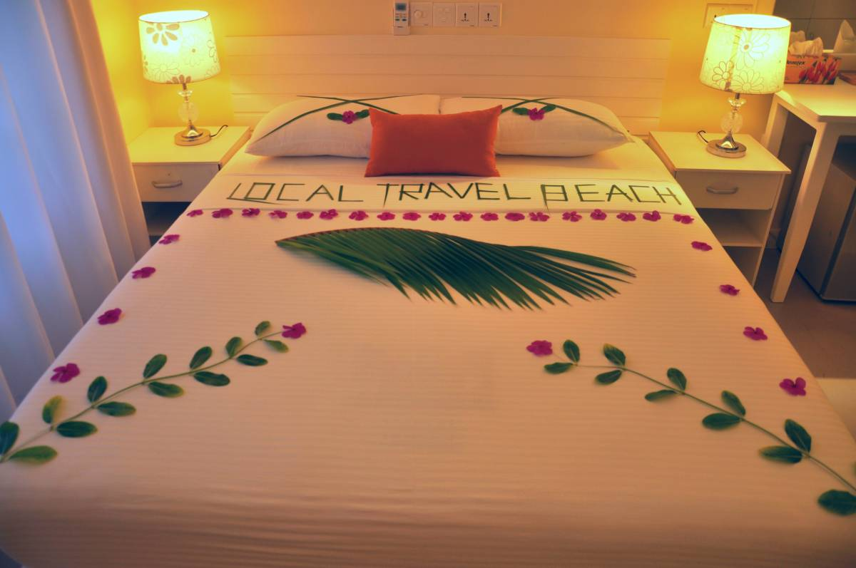 Local Travel Beach, Midu, Maldives, Maldives hotels and hostels