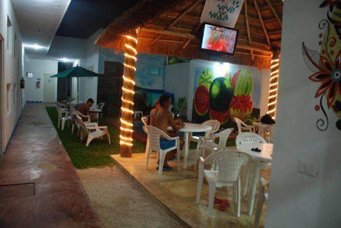 Hostel Vive La Vida, Playa del Carmen, Mexico, hotels with air conditioning in Playa del Carmen