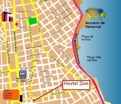 Hostel Zion, Veracruz, Mexico, Mexico hotels and hostels