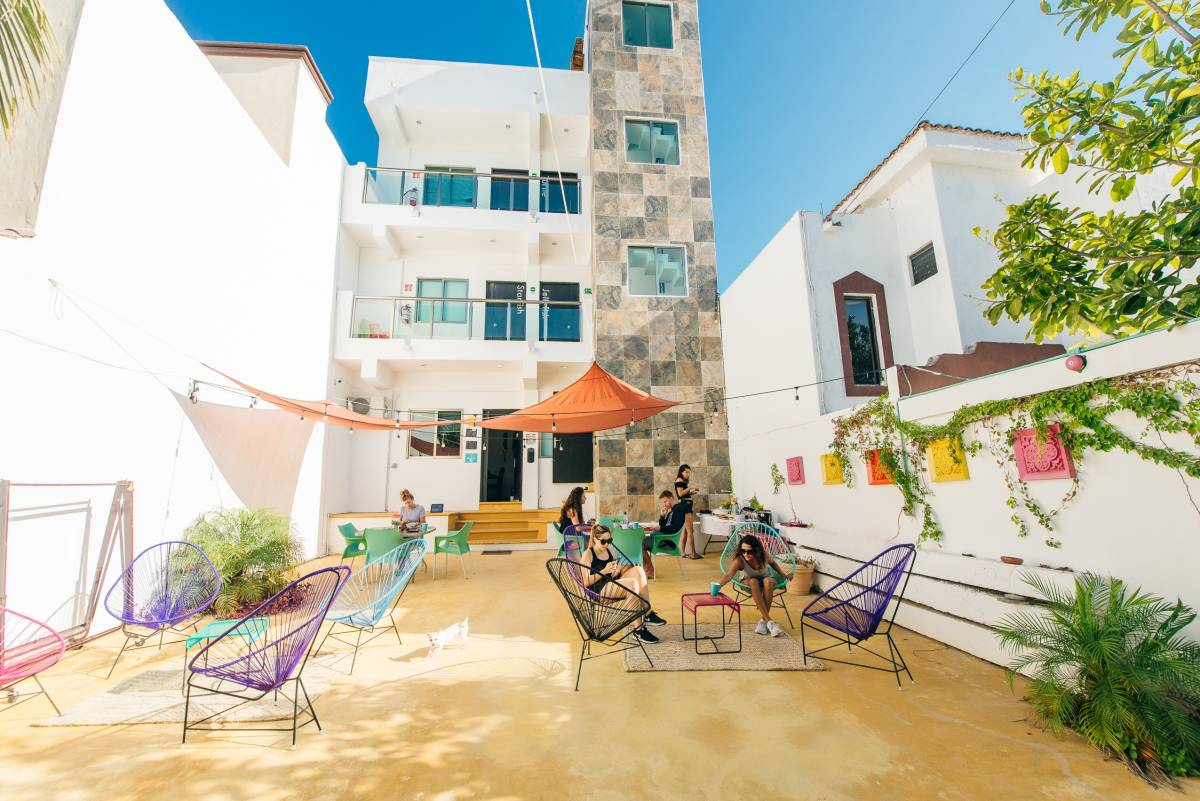 The Mermaid Hostel Beach, Cancun, Mexico, Buchen Sie tropische Ferien und Hotels im Cancun