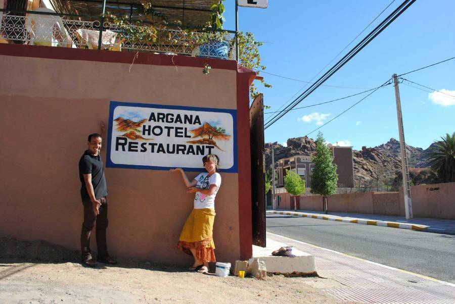 Argana Hotel, Tafraout, Morocco, Morocco hotels and hostels