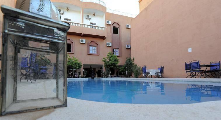 Hotel Nadia, Ouarzazat, Morocco, low cost lodging in Ouarzazat