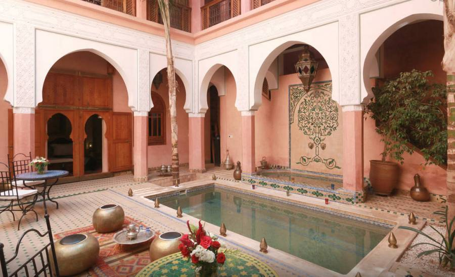 Hotelriad Jnan and Spa, Marrakech, Morocco, exquisite travel destinations in Marrakech