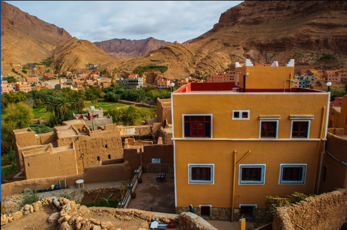 Les Jardins Des Gorges de Todgha, Tineghir, Morocco, Morocco hotels and hostels