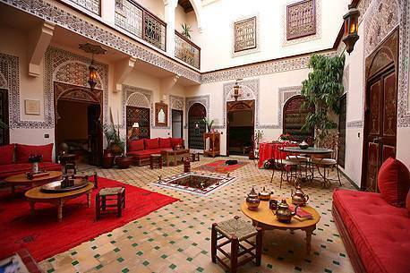 Riad Amiris, Marrakech, Morocco, coolest hotels and hostels in Marrakech