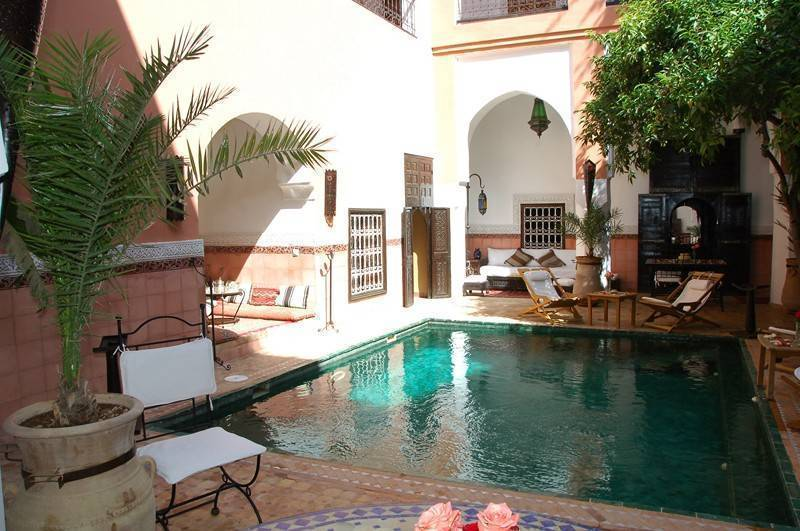 Riad Barroko, Marrakech, Morocco, find hotels in authentic world heritage destinations in Marrakech
