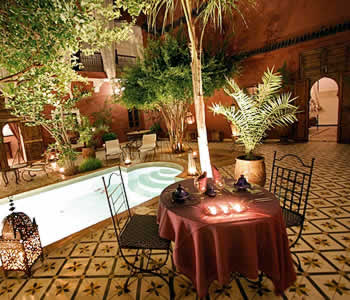 Riad Jardin Grenadine, Marrakech, Morocco, how to choose a booking site, compare guarantees and prices in Marrakech