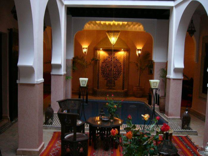 Riad La Rose d'Orient, Marrakech, Morocco, Morocco hotels and hostels