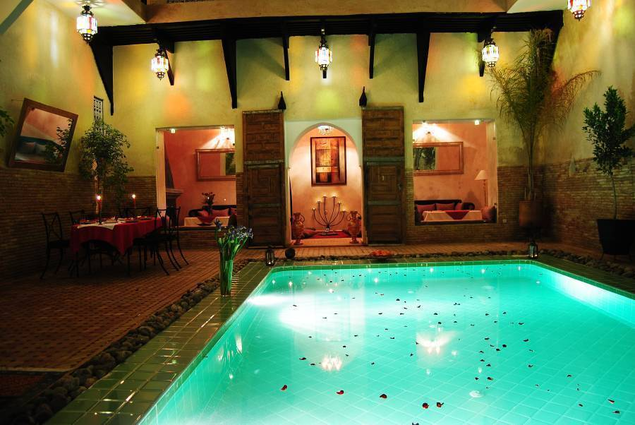 Riad Romance, Marrakech, Morocco, Morocco hotels and hostels