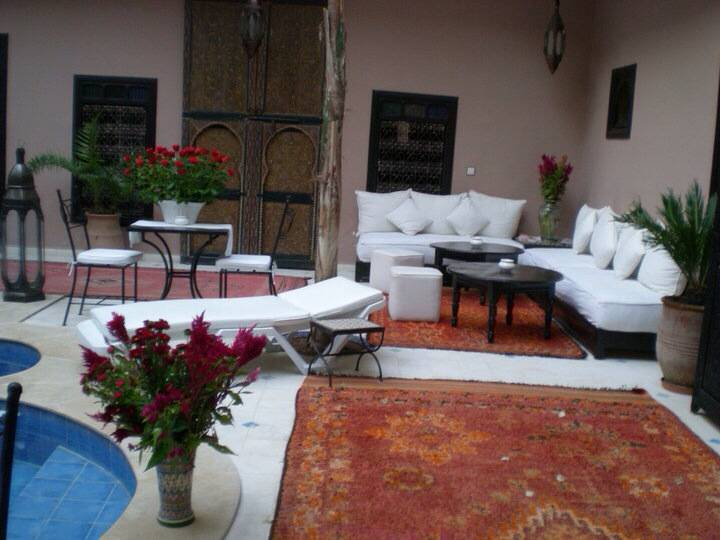 Riad Syba, Marrakech, Morocco, book flights and rental cars with hotels in Marrakech