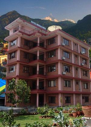 Hotel Middle Path, Pokhara, Nepal, Nepal hostels and hotels
