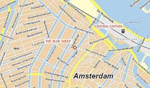 The Blue Sheep, Amsterdam, Netherlands, budget travel in Amsterdam