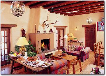 Hacienda Nicholas, Santa Fe, New Mexico, backpackers gear and staying in hostels or budget hotels in Santa Fe