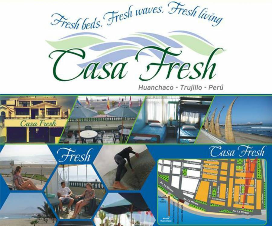 Casa Fresh, Huanchaco, Peru, Peru hotels and hostels