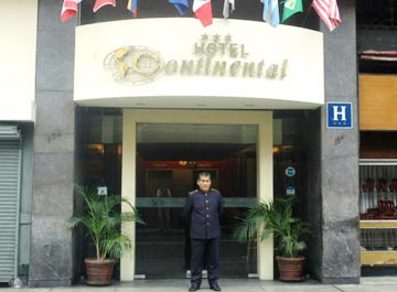 Continental Hotel, Lima, Peru, hotels for ski trips or beach vacations in Lima