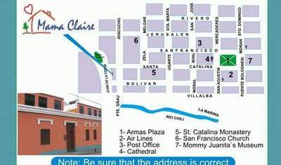 Hostal Mama Claire - Search for free rooms and guaranteed low rates in Arequipa 7 photos
