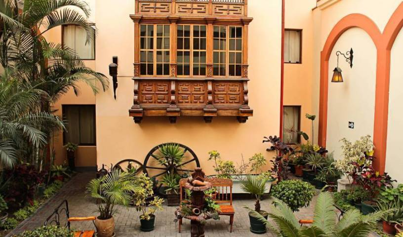 Hotel El Ducado - Search for free rooms and guaranteed low rates in Lima, PE 16 photos