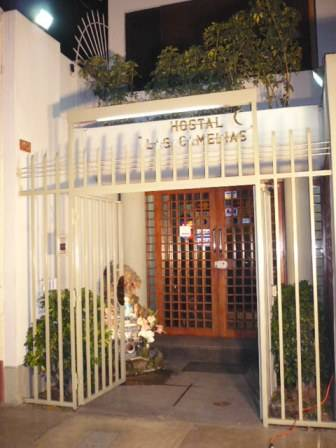 Hostal Las Camelias, Lima, Peru, Peru hotels and hostels