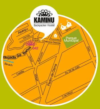Kaminu Backpacker Hostel, Lima, Peru, Peru hotels and hostels