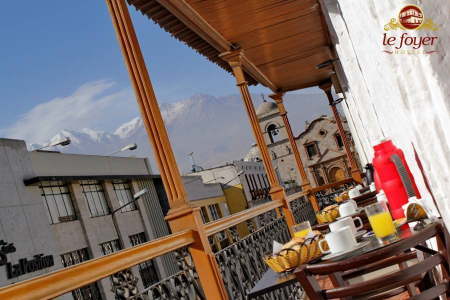 Le Foyer Hostel, Arequipa, Peru, Peru hotels and hostels