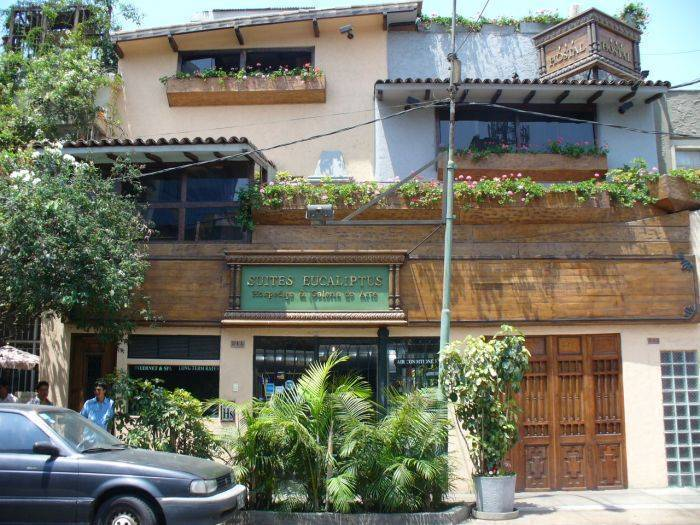 Suites Eucaliptus, Miraflores, Peru, Peru hotels and hostels