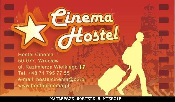 Hostel Cinema, Wroclaw, Poland, Poland hotels and hostels