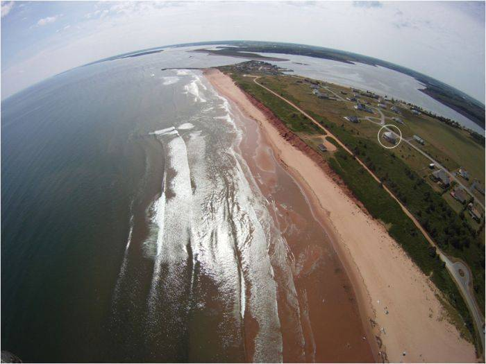 Around The Sea Rotating BB Luxury Suite, North Rustico, Prince Edward Island, where are the best new hotels in North Rustico