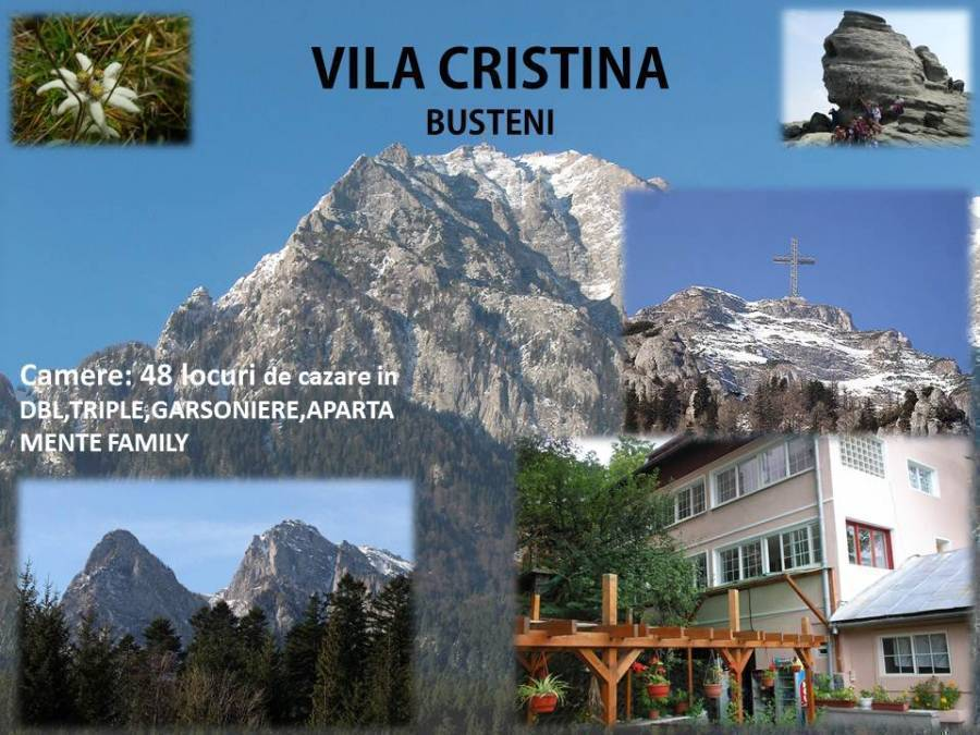 Cristina Guest's House, Busteni, Romania, Romania hotels and hostels