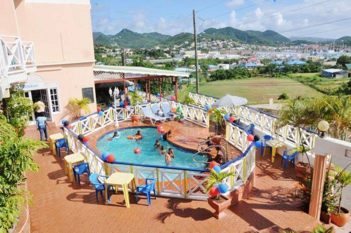 Oceanview Hotel and Spa, Gros Islet, Saint Lucia, Saint Lucia hostels and hotels