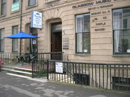Blue Sky Hostel, Glasgow, Scotland, Scotland hotels and hostels