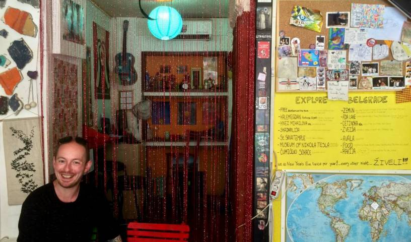 Green Studio Hostel - Search for free rooms and guaranteed low rates in Belgrade 10 photos