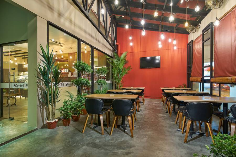 Central 65 Hostel and Cafe, Kampong Bugis, Singapore, compare with the world's largest hotel sites in Kampong Bugis