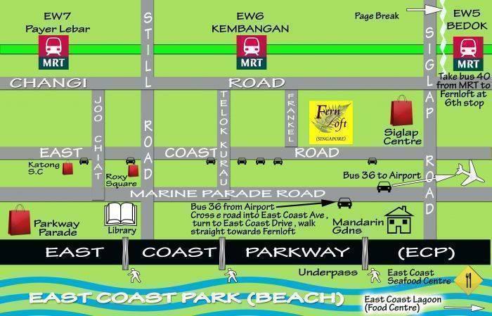 Fernloft East Coast, Frankel Estate, Singapore, city hotels and hostels in Frankel Estate