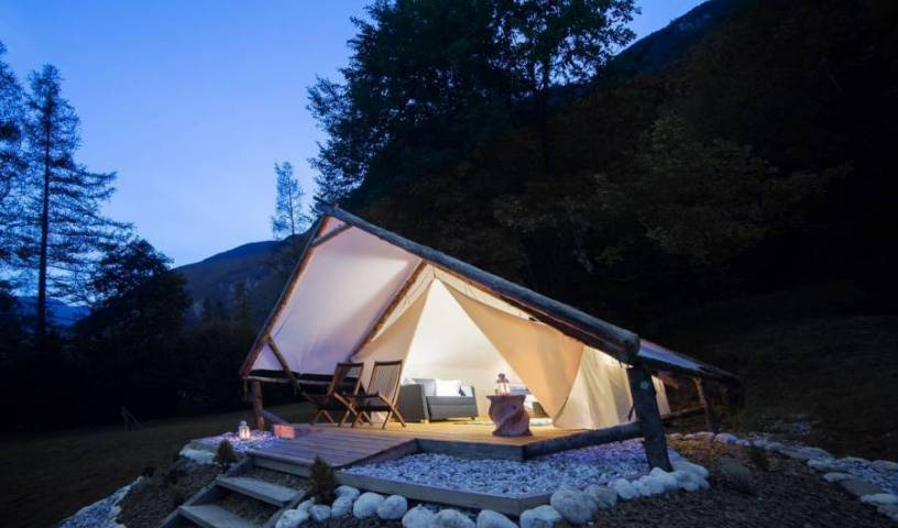 Eco Camp Canyon - Open Air Hostel Soca - Search available rooms and beds for hostel and hotel reservations in Bovec, excellent hostels 22 photos