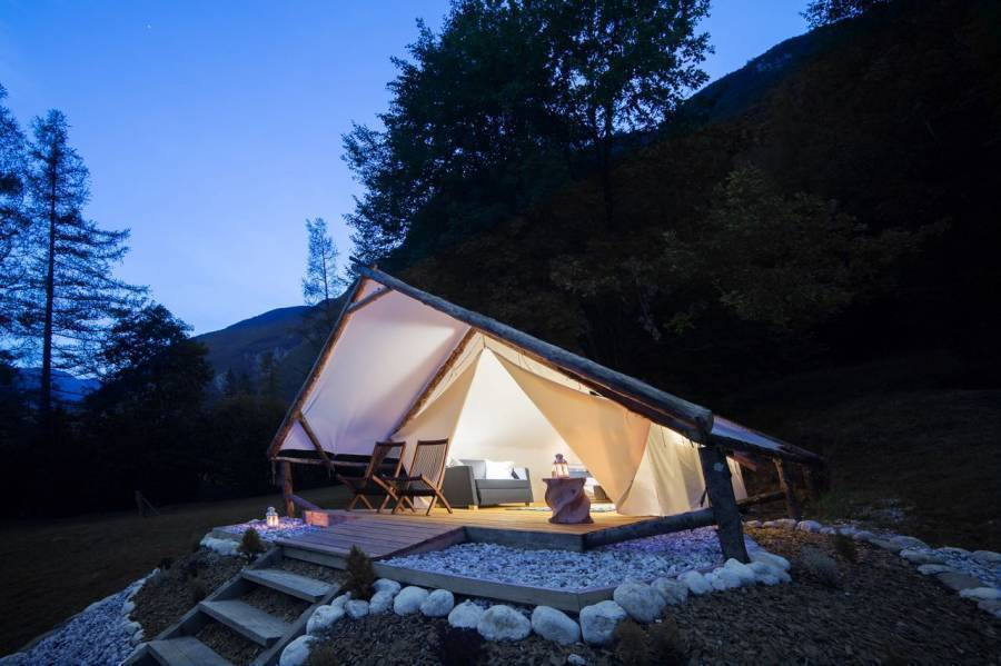 Eco Camp Canyon - Open Air Hostel Soca, Bovec, Slovenia, Slovenia hotels and hostels