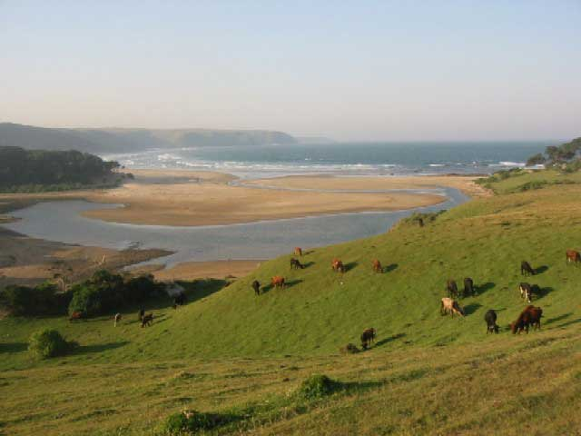 Bulungula Lodge, Coffee Bay, South Africa, backpackers gear and staying in hostels or budget hotels in Coffee Bay