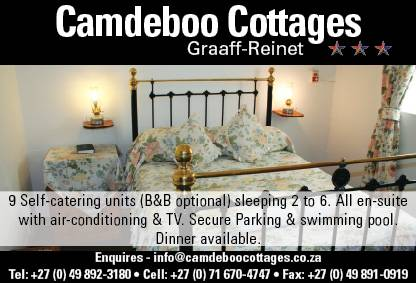 Camdeboo Cottages B and B, Graaff-Reinet, South Africa, South Africa hotels and hostels