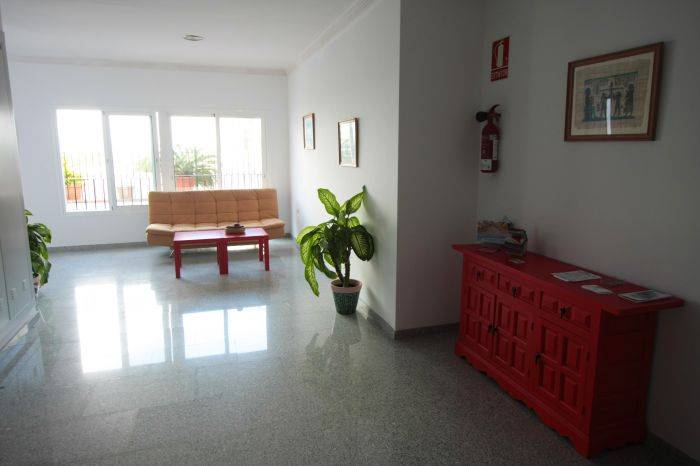 Apartamentos Nerjaluna, Nerja, Spain, stay in a hotel and meet the real world, not a tourist brochure in Nerja
