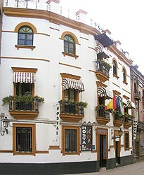 Sevillebackpacker Picasso, Sevilla, Spain, Spain hotels and hostels