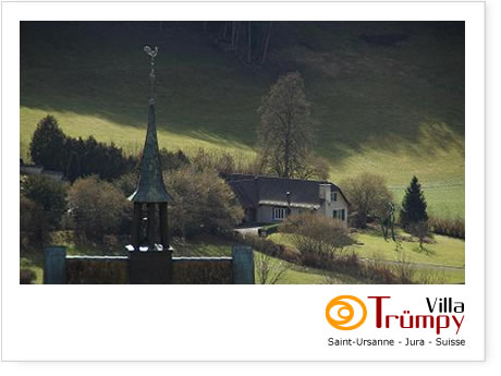 Villa Trumpy, Saint-Ursanne, Switzerland, eco friendly hotels and hostels in Saint-Ursanne