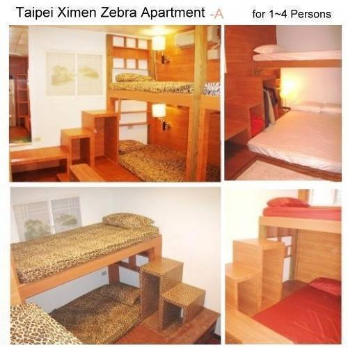 Taipei Ximen Zebra Apartments, Taipei, Taiwan, hotels for vacationing in summer in Taipei