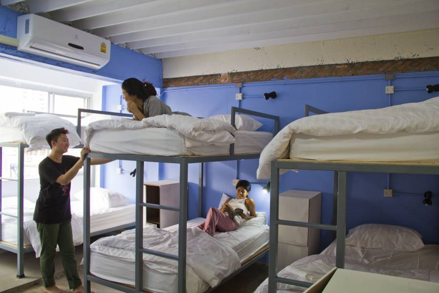 Fun Wan Hostel Bangkok, Bangkok, Thailand, Thailand hotels and hostels