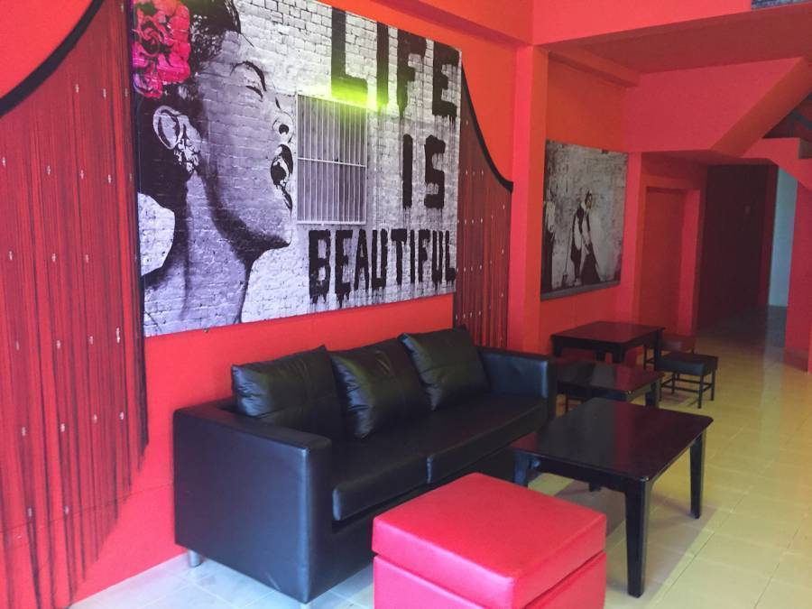 Red Boutique Hostel, Ko Phangan, Thailand, get travel routes and how to get there in Ko Phangan